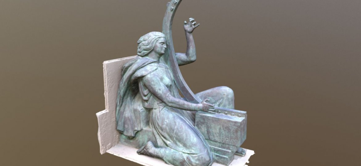 Jalea sculpture