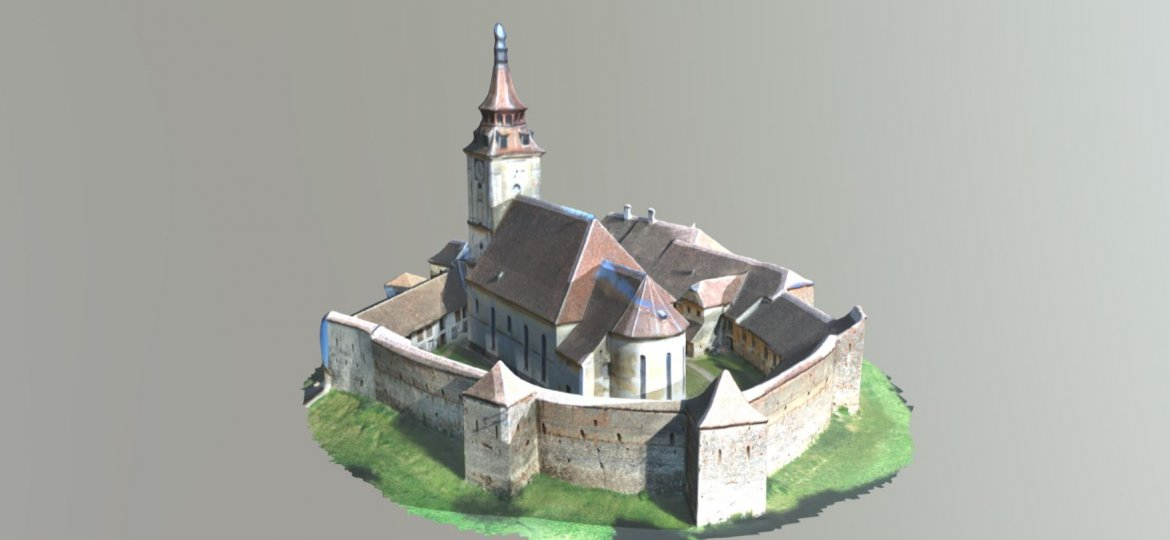 Sanpetru fortified church