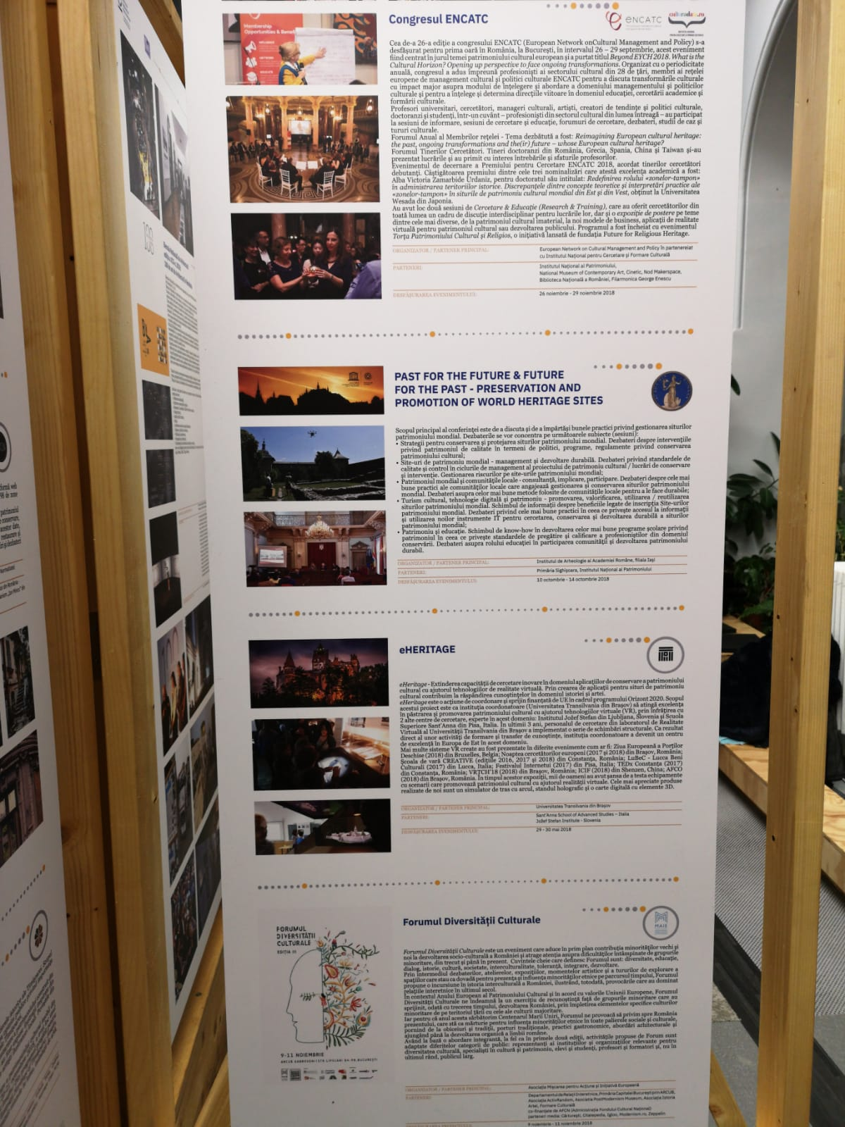Participation in the Forum of the European Year of Cultural