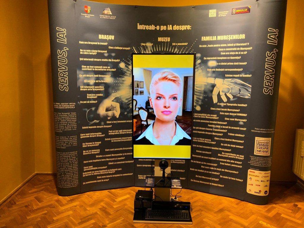 Asistent inteligent IA pentru muzeu